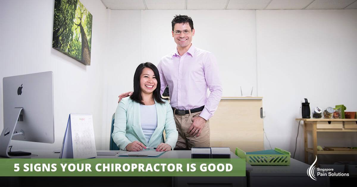 SG Pain Solutions - 5 Signs Your Chiropractor is Good - Dr Jeff and Dr Jenny