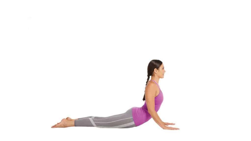 Stretches for Tailbone pain relief: Cobra Pose