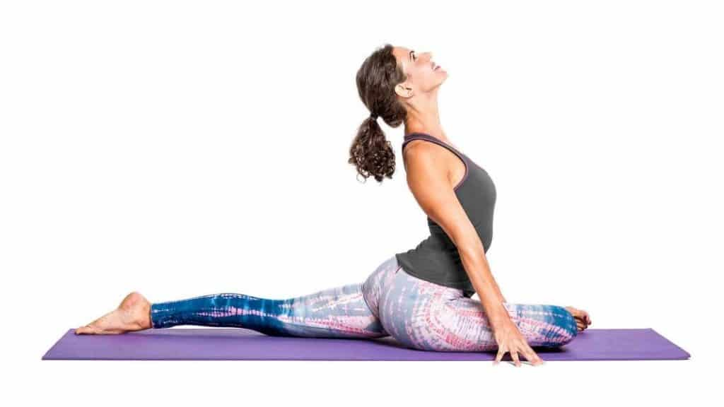 Stretches for Tailbone pain relief: Pigeon Pose